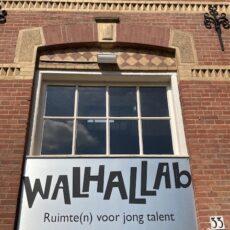 Flevodrome op werkbezoek bij Walhallab in Zutphen.