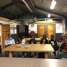 Studenten van MBO Lelystad op bezoek bij Flevodrome